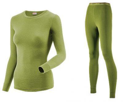 фото Комплект женского термобелья Guahoo: рубашка + лосины (22-0571 S/LGN / 22-0571 P/LGN) [3XL(54)/176-108-114]