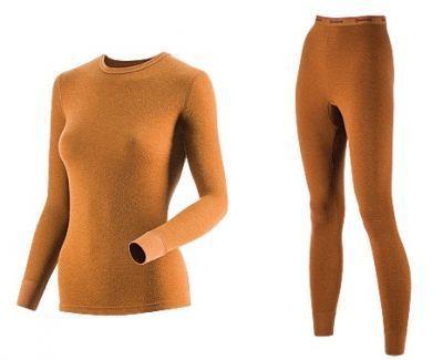 фото Комплект женского термобелья Guahoo: рубашка + лосины (22-0601 S/BR / 22-0601 P/BR) [2XL(52)/176-104-110]
