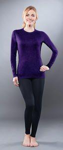 фото Комплект женского термобелья Guahoo: рубашка + лосины (301 S/VT / 301 P/BK) [2XS(40)/164-80-86]