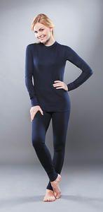 фото Комплект женского термобелья Guahoo: рубашка + лосины (331S-NV / 331P-NV) [2XL(52)/176-104-110]