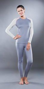 фото Комплект женского термобелья Guahoo: рубашка + лосины (561 S-GY / 561 P-GY) [2XL(52)/176-104-110]