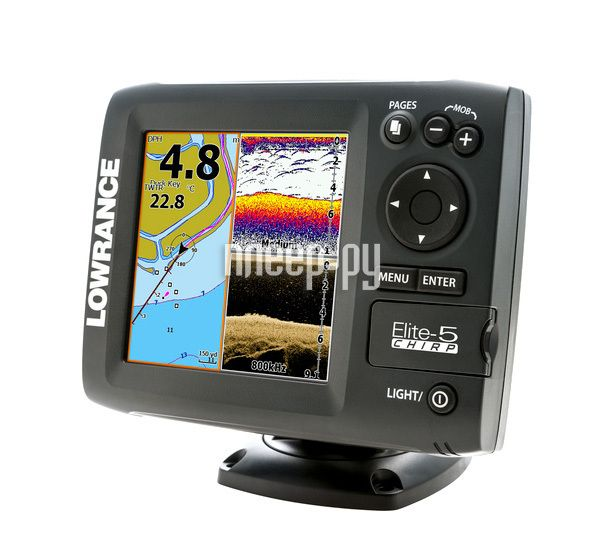 фото Lowrance Elite 5 CHIRP