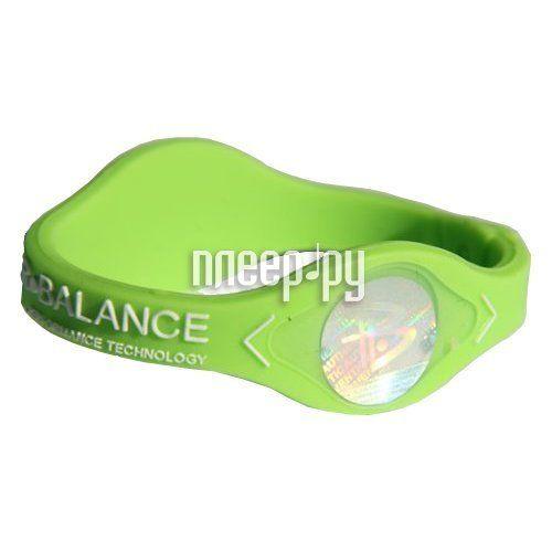 фото POWER BALANCE XS Neon White Hologram Green/White