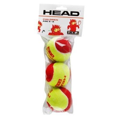 фото Мяч теннисный HEAD T.I.P Red, арт.578213/578113,уп.3 шт, фетр,нат.резина,желтый Мяч теннисный HEAD T.I.P Red, арт.578213/578113,уп.3 шт, фетр,нат.резина,желтый