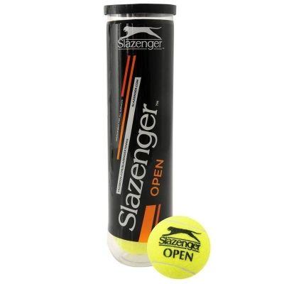 фото Мяч теннисный Slazenger Open 4B PET TUBE, арт.341724,уп.4шт,одобр. ITF Мяч теннисный Slazenger Open 4B PET TUBE, арт.341724,уп.4шт,одобр. ITF