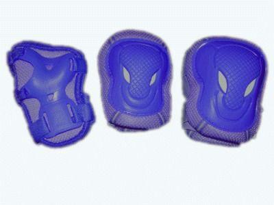 фото Защита роликовая. В наборе: 2 защиты колена, 2 защиты локтя, 2 защиты кисти. Размер L. WXR-L
