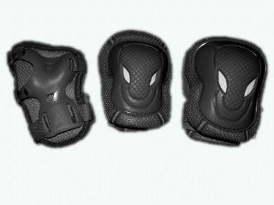 фото Защита роликовая. В наборе: 2 защиты колена, 2 защиты локтя, 2 защиты кисти. Размер S. WXR-S