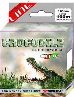 фото Леска SWD Crocodile 100м 0,2 (4,10кг) ваккум/уп прозрачная