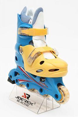 фото Роликовые коньки JOEREX RO0306 (синий/желтый) [р.35-38]
