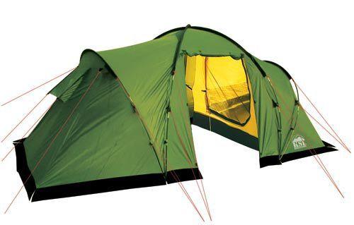 фото Палатка MACON 4 \ green, 470x240x190 cm