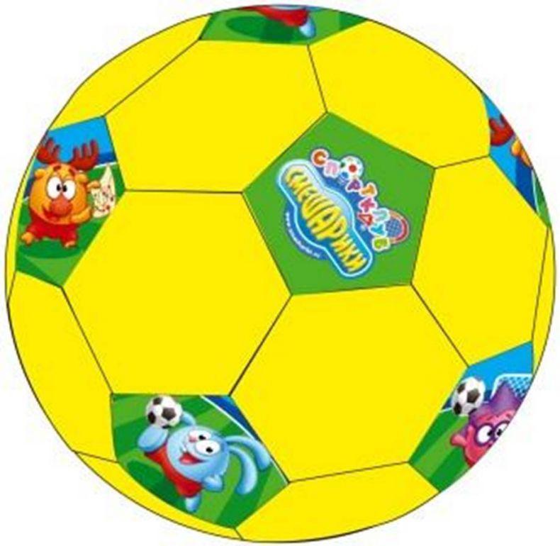 фото Мяч футбольный Смешарики №4 SMSO 102 [синий]