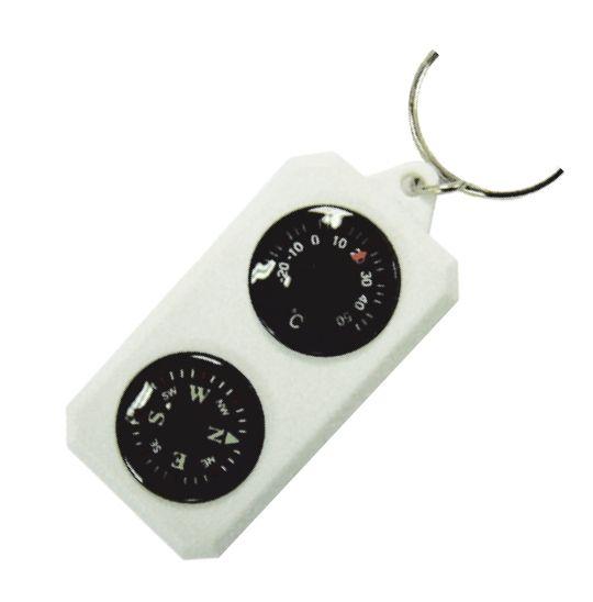 фото Sol компас-брелок с термометром SLA-003 [пластик]