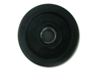 фото Диск SLS GYM обрез. чер. D-26mm. 1,5 кг.