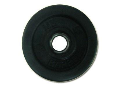 фото Диск SLS GYM обрез. чер. D-26mm. 2,0 кг.