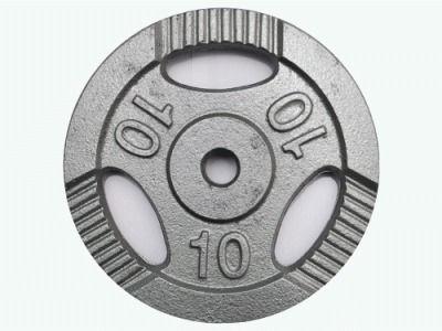 фото Диск для штанги металл, порошковая окраска. D-26 мм. Вес 10 кг К3-10 кг