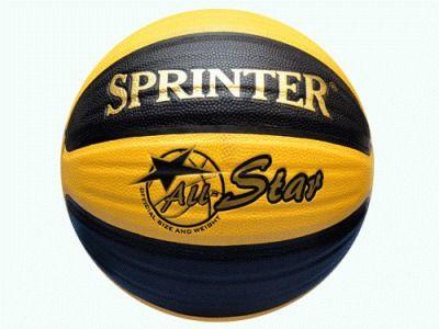 фото Баскетбольный мяч SPRINTER №7 . Игровой и тренировочный мяч для баскетбола. Полиуретан, нейлоновый корд, бутиловая камера. BS-507