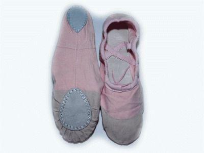 фото Балетки (ткань+кожа) , цвет - розовый. Размер 38.