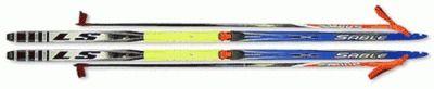 фото Лыжный комплект STS. ( лыжи, палки, крепл.75 мм.) 175 step