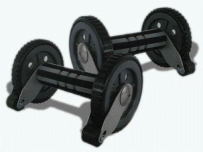 фото Ролик гимнастический с тормозом безопастности. ASW002