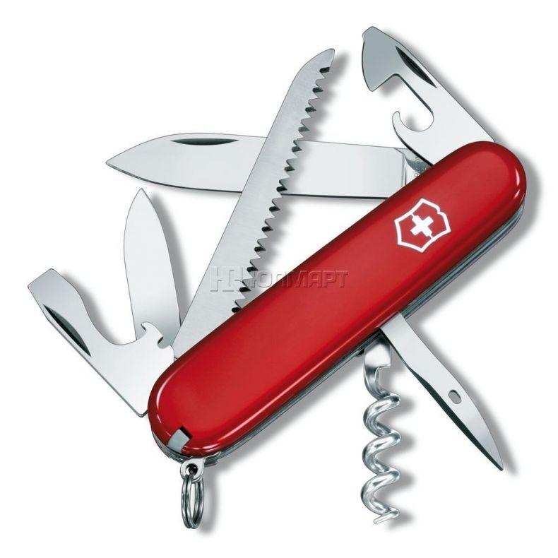 фото Нож VICTORINOX CAMPER 1.3613, 91мм, красный