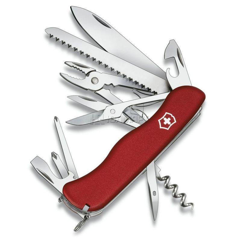 фото Нож перочинный VICTORINOX Hercules 0.9043, красный
