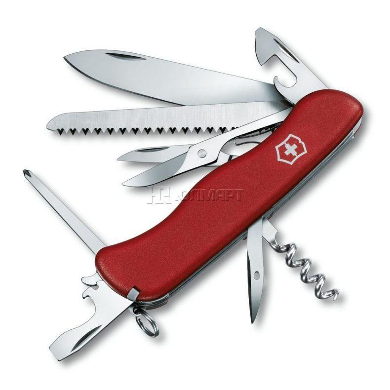 фото Нож перочинный VICTORINOX Outrider 0.9023, красный