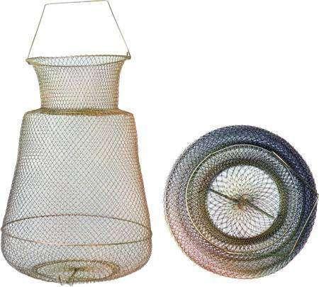 фото Садок металический круглый диаметр 25сm высота 35см ячейка 17мм (СК2517)