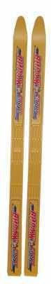 фото Лыжи детские пластиковые ВИРАЖ-СПОРТ 100см (алюминиевые палки 100см, полужесткие крепления, подарочная уп-ка) г.Ковров