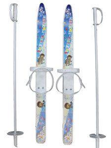 фото Лыжи детские ЛыжикиПыжики 75см, с палками75см